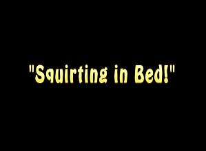 Its Cleo Squirting in Bed